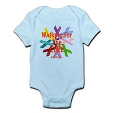 Walking for the CURE copy.png Infant Bodysuit