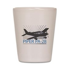 Aircraft Piper PA-28 Shot Glass