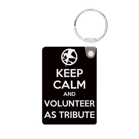 Keep Calm and Volunteer as Tribute Aluminum Photo