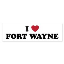 FORT WAYNE.png Bumper Sticker