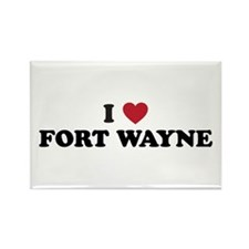 FORT WAYNE.png Rectangle Magnet