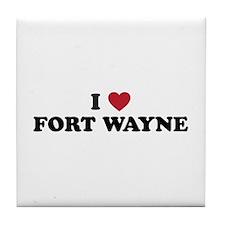 FORT WAYNE.png Tile Coaster