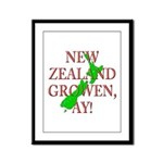 NZ Growen Framed Panel Print