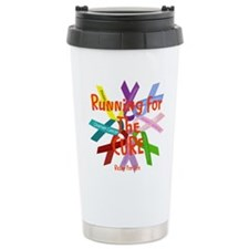 Running for the CURE.png Travel Mug
