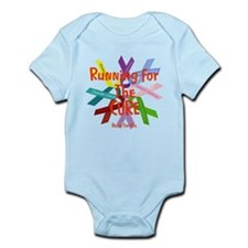 Running for the CURE.png Infant Bodysuit