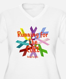 Running for the CURE.png T-Shirt