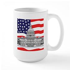 U.S. Capitol Building Mug