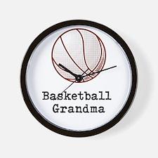 Basketball Grandma Wall Clock