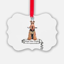 Airedale Terrier Chef Ornament
