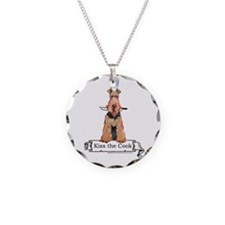 Airedale Terrier Chef Necklace