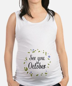 See You In October Tank Top