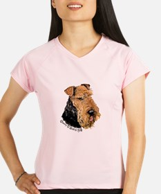 Airedale Terrier Good Dog Performance Dry T-Shirt