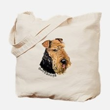 Airedale Terrier Good Dog Tote Bag