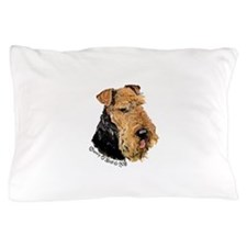 Airedale Terrier Good Dog Pillow Case