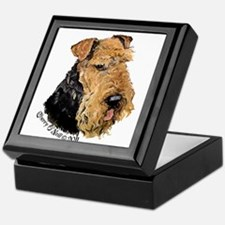 Airedale Terrier Good Dog Keepsake Box