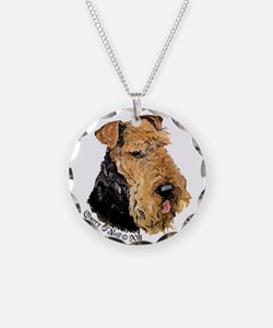 Airedale Terrier Good Dog Necklace