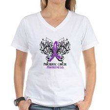 Butterfly Pancreatic Cancer Shirt