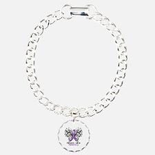 Butterfly Pancreatic Cancer Bracelet