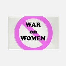 War on Women Rectangle Magnet