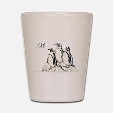 Chill Penguins Shot Glass