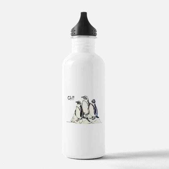 Chill Penguins Water Bottle