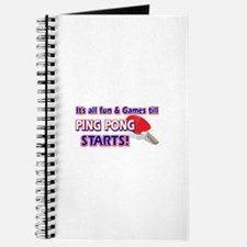 Cool Ping Pong Designs Journal