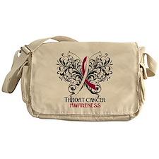 Butterfly Throat Cancer Messenger Bag