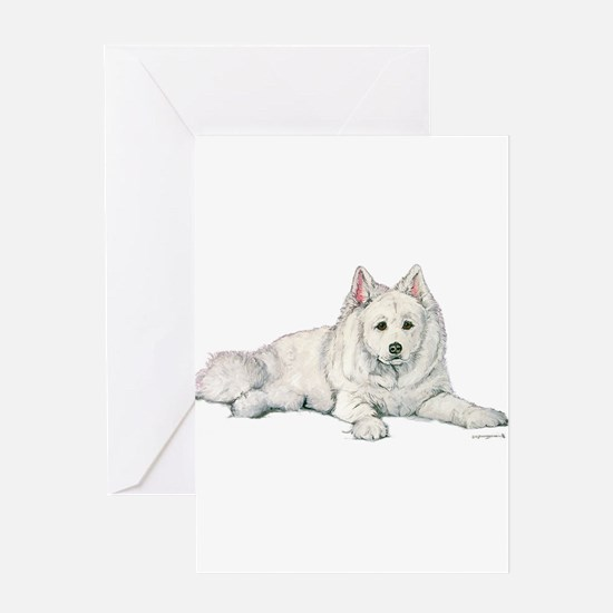 Samoyed 10x17 Leader of the pack.png trans.png Gre