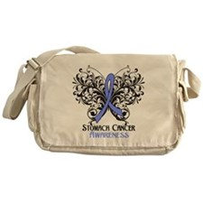 Butterfly Stomach Cancer Messenger Bag