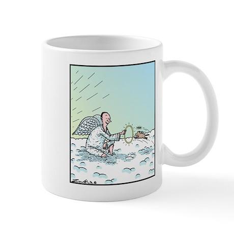 A Dog in Heaven Mug