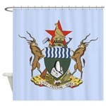 Zimbabwe Coat Of Arms Shower Curtain