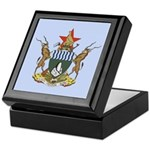 Zimbabwe Coat Of Arms Keepsake Box