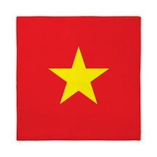 Vietnam Flag Queen Duvet