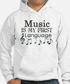 Music is my first Language Jumper Hoody