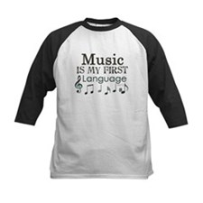 Music is my first Language Tee