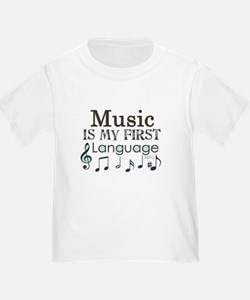 Music is my first Language T