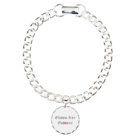 Gluten free Goddess Charm Bracelet, One Charm