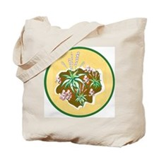 Garden and Rose in Vase Tote Bag