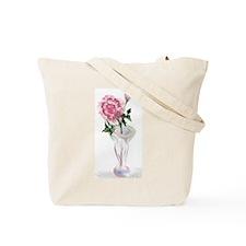 Garden and Rose in Vase Tote Bag
