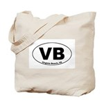 VB (Virginia Beach) Tote Bag