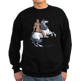 Bigfoot unicorn Sweatshirt (dark)