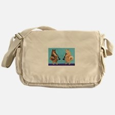 Pomeranian Clarinet Duo Messenger Bag