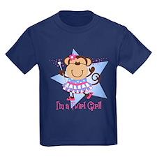 Monkey Twirl Girl T