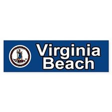 Virginia Beach Bumper Bumper Sticker