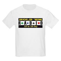 Holdemradio Logo Kids T-Shirt