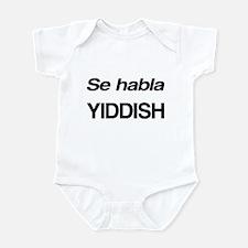 Se Habla Yiddish Infant Bodysuit