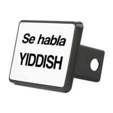 Se Habla Yiddish Hitch Cover