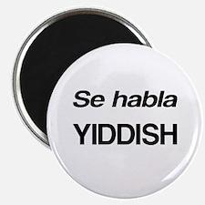 Se Habla Yiddish Magnet
