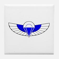 SAS Parchutist Badge Tile Coaster