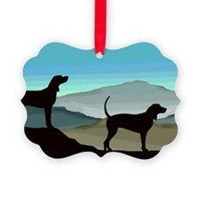 Blue Hills Coonhounds Ornament